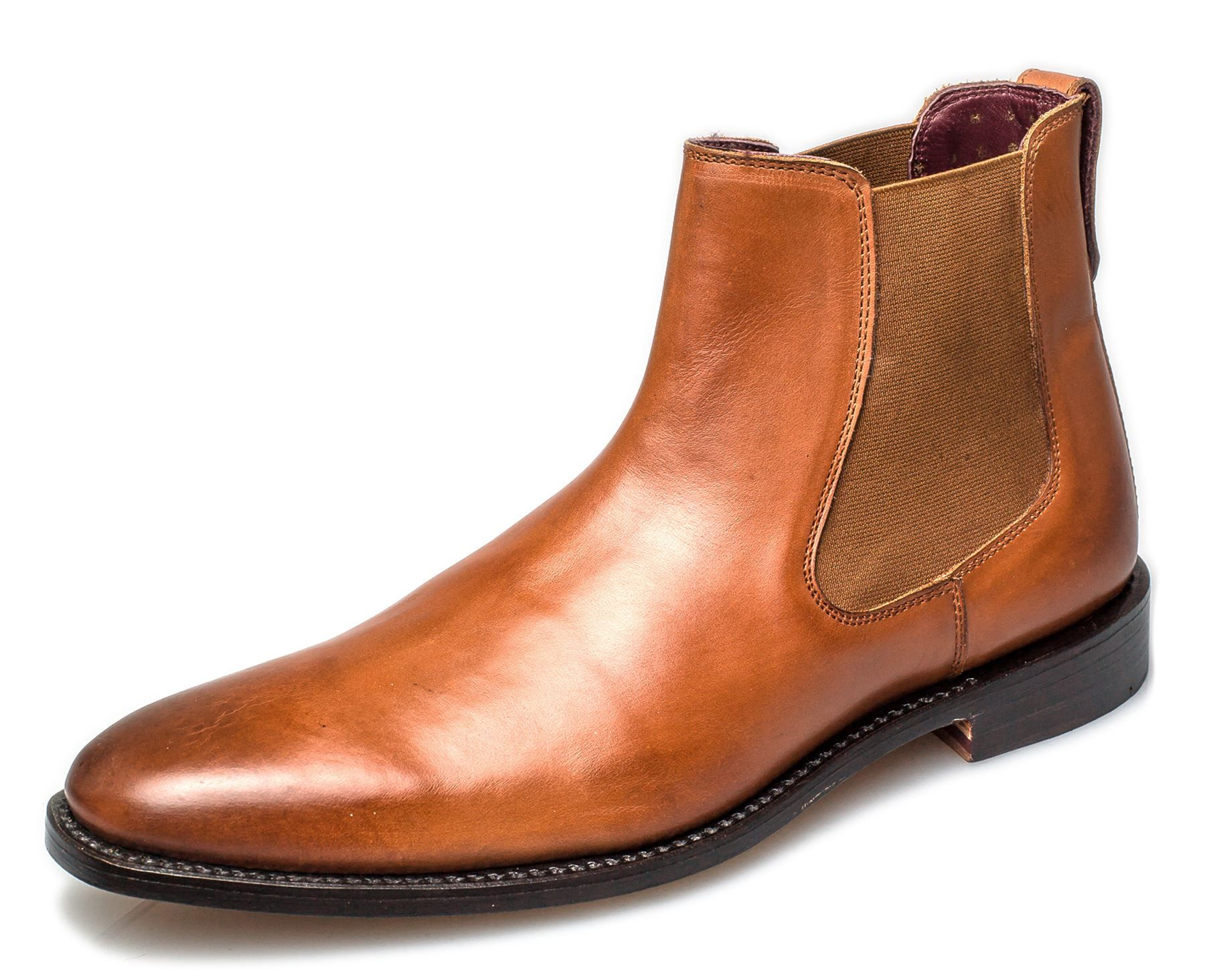 London Brogues Harvey Chelsea Goodyear Welted Mens Leather Boots 68b5b81315ff