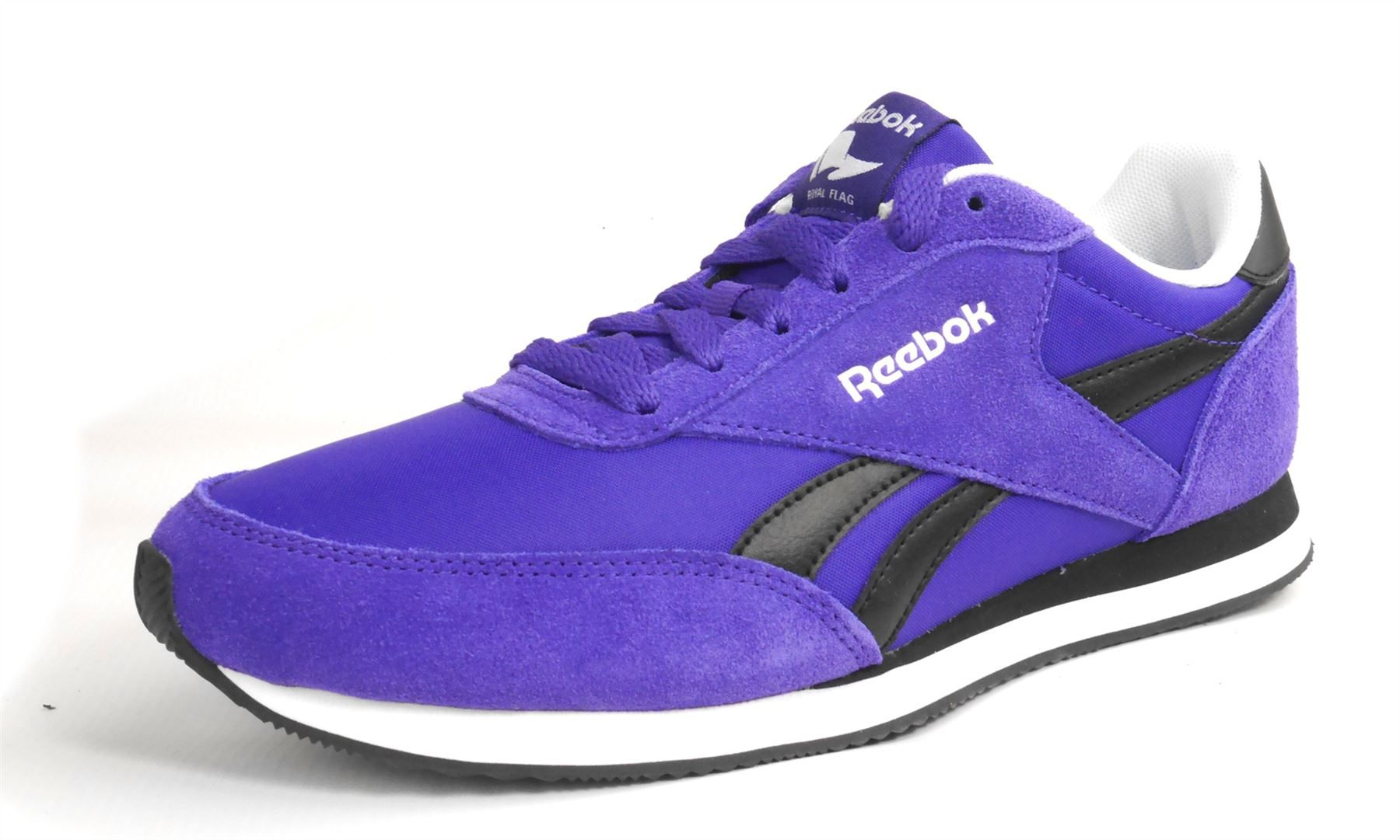 Reebok Royal Cl Jogger Purple Trainers 6fa198efd65a